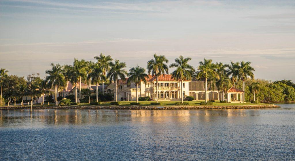 Naples Florida – překrásná rezidence na ostrově