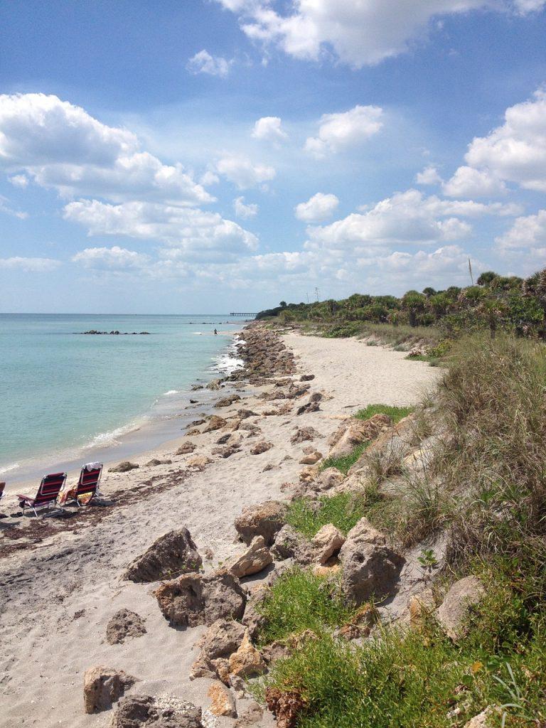 Venice Florida – pláž