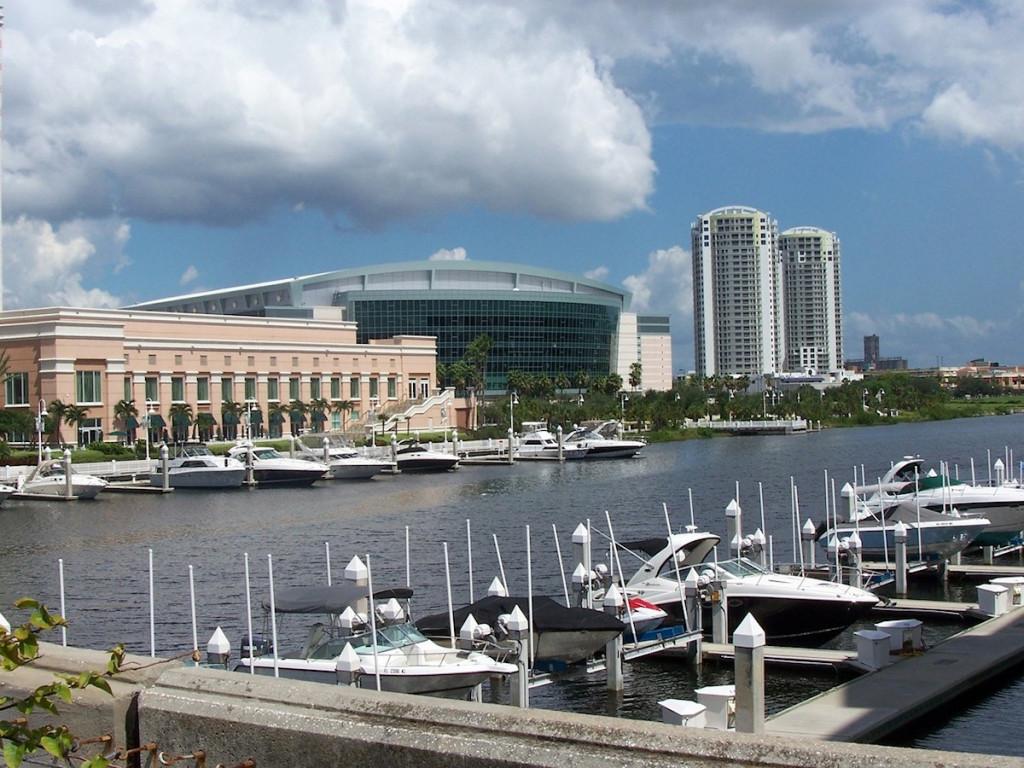 Downtown Tampa, Florida – přístaviště
