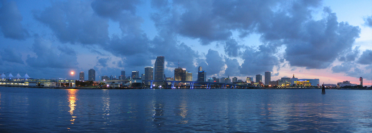 Downtown Miami, Florida - panorama