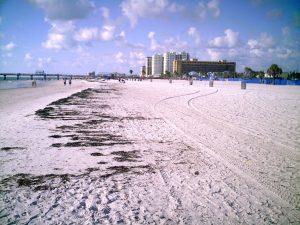 Clearwater pláž, Florida
