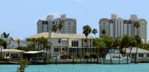 Přístav v Clearwater, Florida