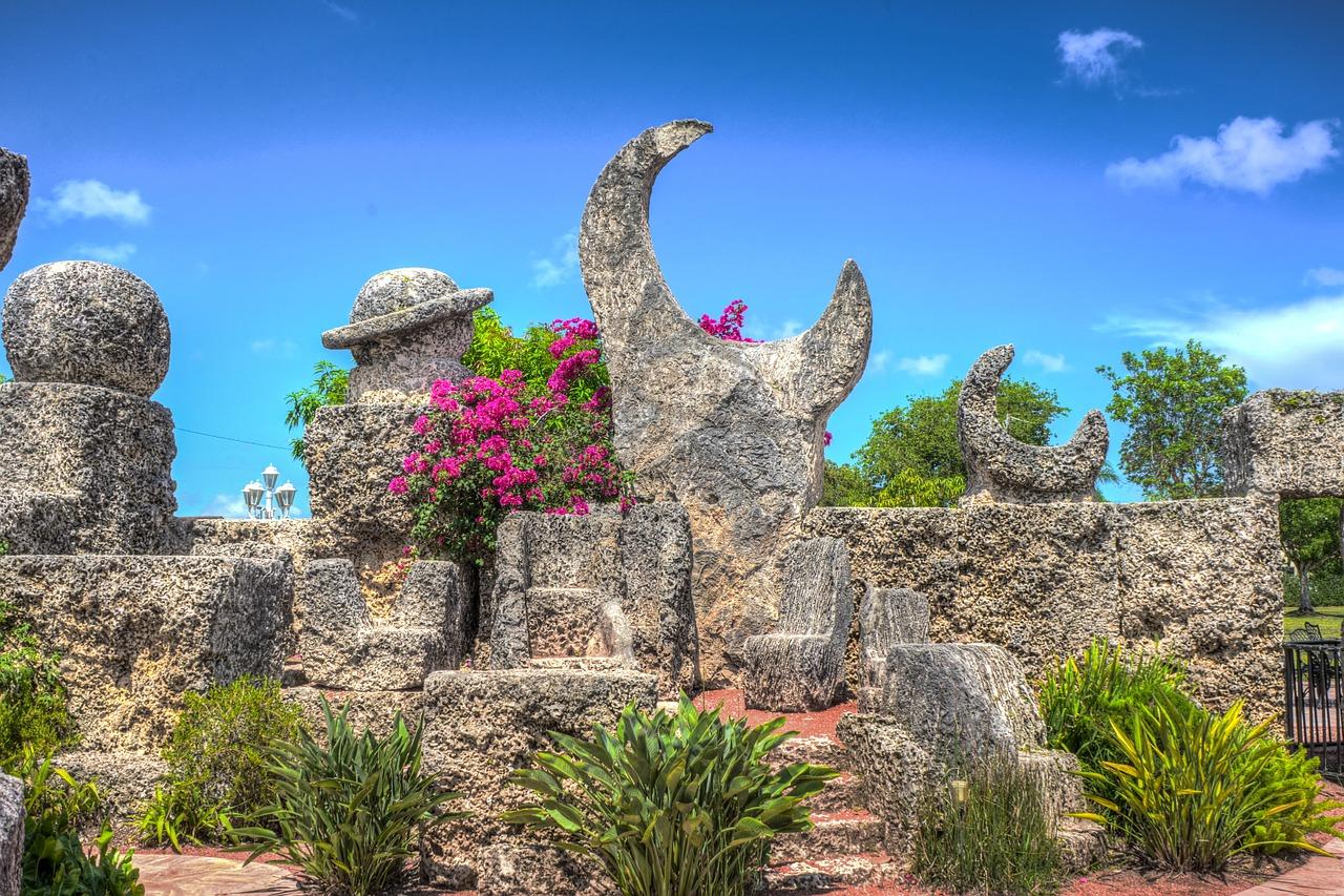 Korálový hrad poblíž města Homeastead