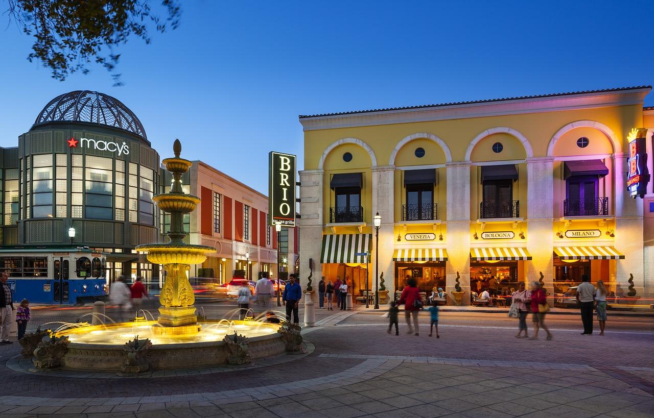CityPlace na Floridě West Palm Beach