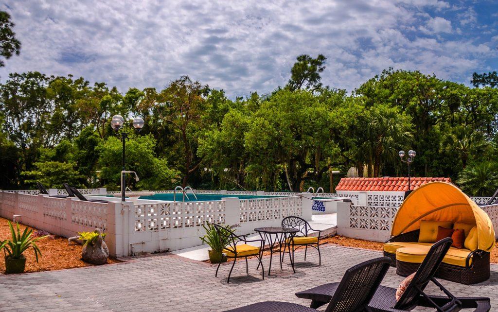 Bonita Springs na Floridě – bazén a rekreace
